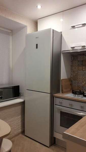 Симпатичный ремонт кухни 5 м² в хрущевке – редко кому удается все разместить так удобно