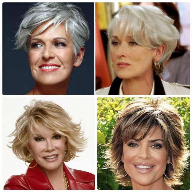 Лучшие омолаживающие женские стрижки на короткие и средние волосы для женщин 40 лет
