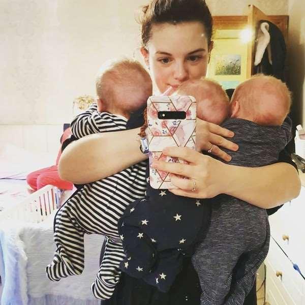 Мать тройняшек не сумела различить собственных детей