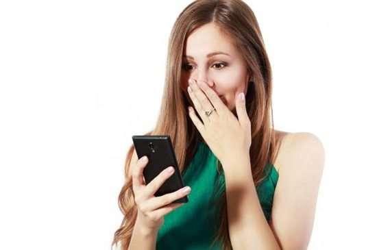 Случайно ушла с телефоном мужа