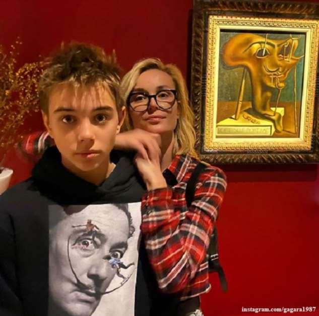 Полина Гагарина гордится сыном — отличником