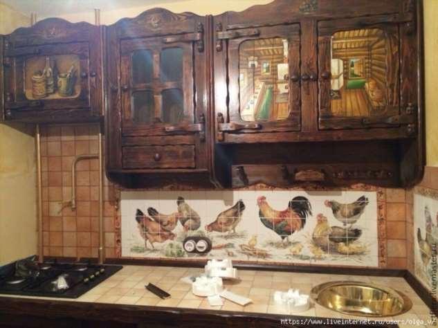 Винтажное и просто красивое)) кухонное