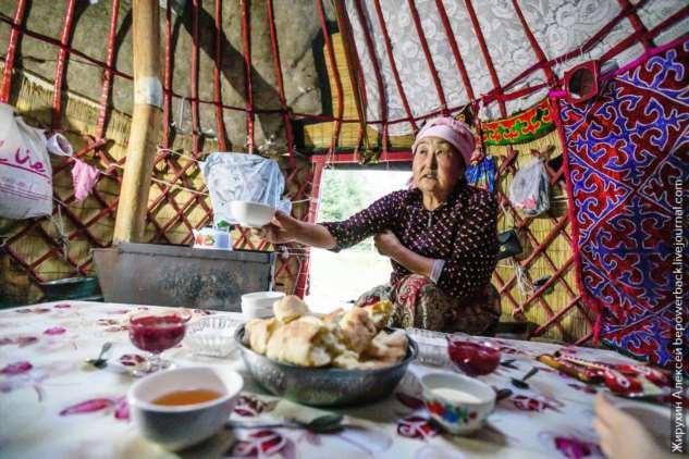 Как живут в киргизских юртах