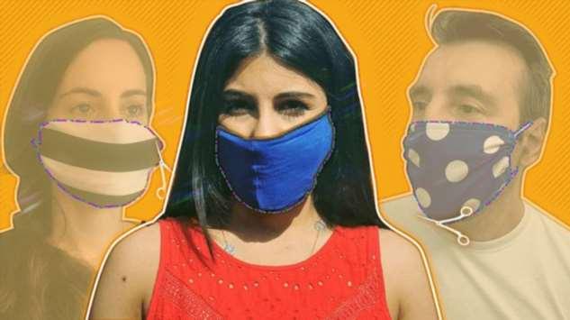 Коронавирус: как сделать маску из подручных материалов