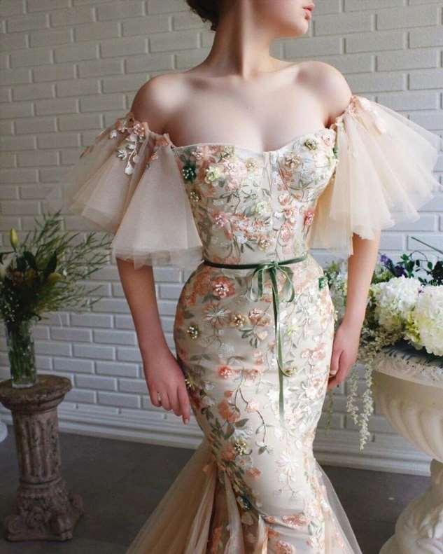 Просто сказочные, шикарные платья турецкого дизайнера Teuta Matoshi Duriqi  Как вам?