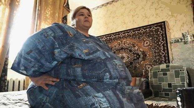 Самая большая женщина России, Наталья Руденко, смогла похудеть и продолжает работать над собой