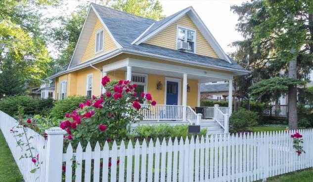 Идеи оформления фасада для владельцев небольших домов