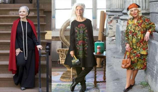 Из пенсионерку в пионерку:  свой стиль в пожилом возрасте