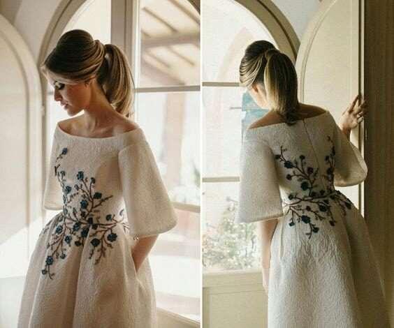 Нежные платья, вышитые цветами