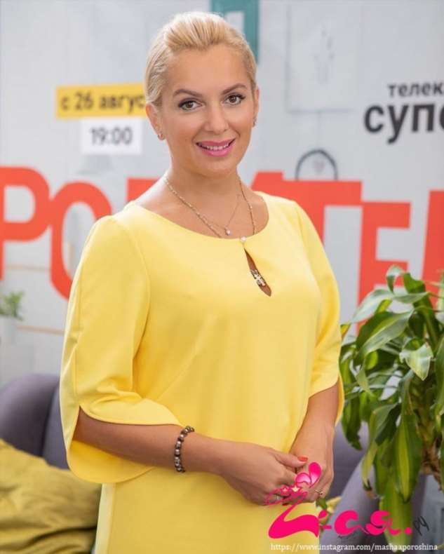 Мария Порошина показала среднюю красавицу дочку
