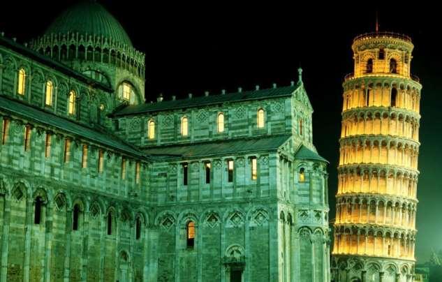 Шедевры архитектуры Италии