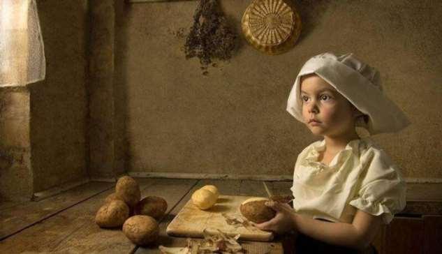 Что умела девочка 10-ти лет, живущая в деревне век назад