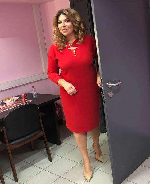 Екатерина Скулкина и её удачные платья plus size