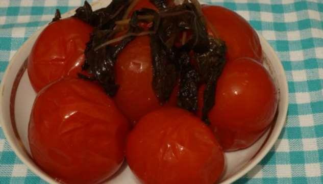 Рецепт вкуснейших маринованных помидоров с базиликом