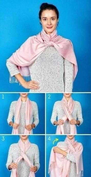 8 способов дополнить образ с помощью шарфа