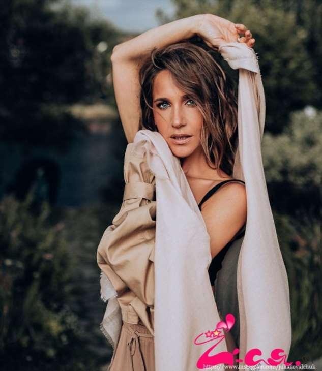 Юлия Ковальчук поделилась снимком в нижнем белье