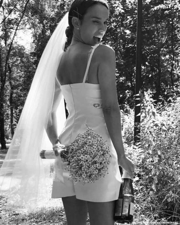 Юлия Зимина показала 5-летнюю дочь на фото со свадьбы
