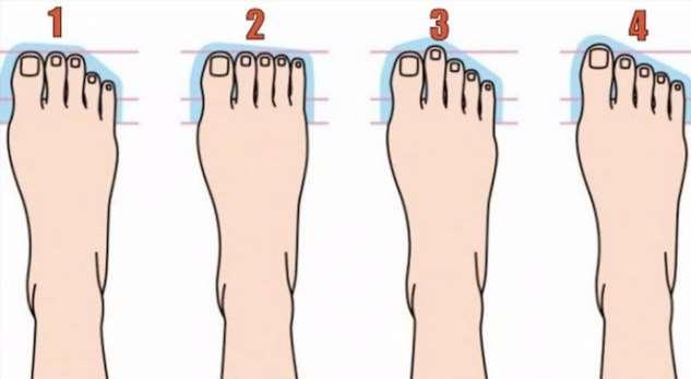 10 типов ноги и ваш склад личности