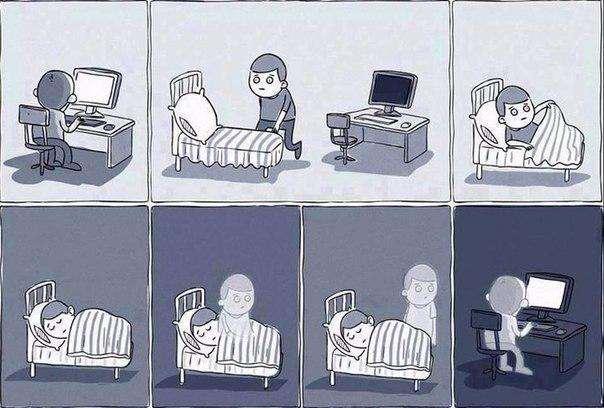 Сон и продолжительность жизни. Пандемия недосыпа