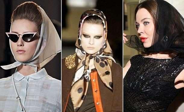 Как красиво завязать платок на голове – все стили.