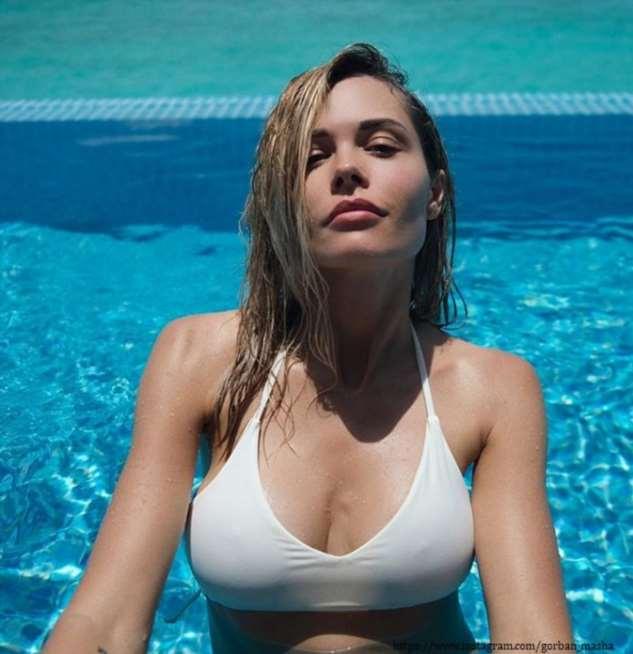 Мария Горбань продемонстрировала свои купальники