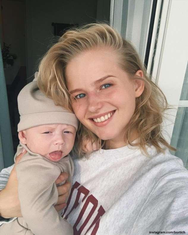 Новоиспеченная мама, Александра Бортич впервые поделилась кадром из «беременной» фотосессии
