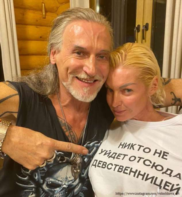 Никита Джигурда схватил Волочкову за грудь