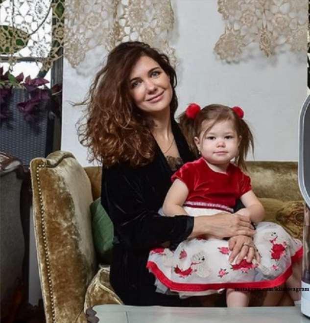 Екатерина Климова поделилась очаровательными кадрами с дочкой