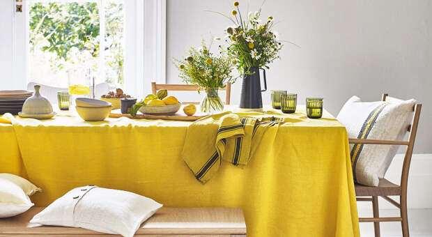 На стороне солнца: желтый цвет в интерьере дома