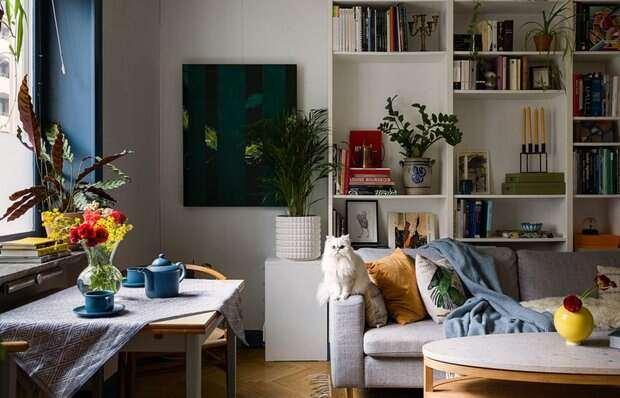 Как без ремонта преобразили старую квартиру и мебель