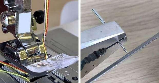 6 лайфхаков и хитростей для шитья на швейной машине