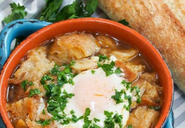 Испанский хлебный суп по-деревенски: получилось сытнее солянки
