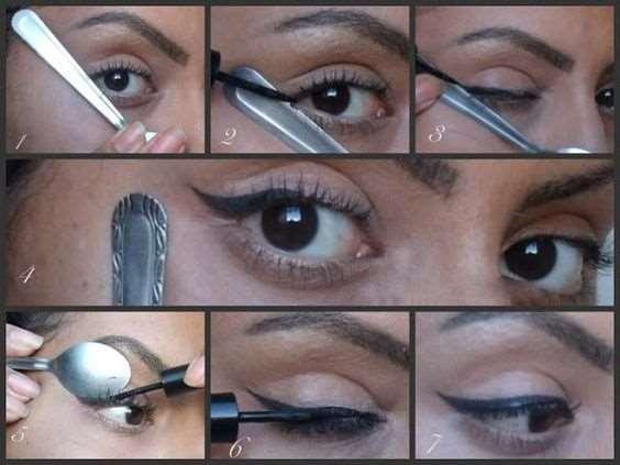 Как нарисовать стрелки с помощью ложки: пошаговая инструкция