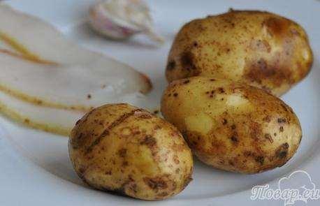 Картошка под парусами – просто и оригинально