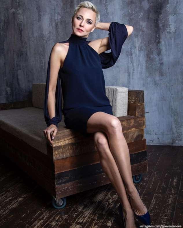 Дарья Повереннова оценила себя настоящую и 20 лет назад