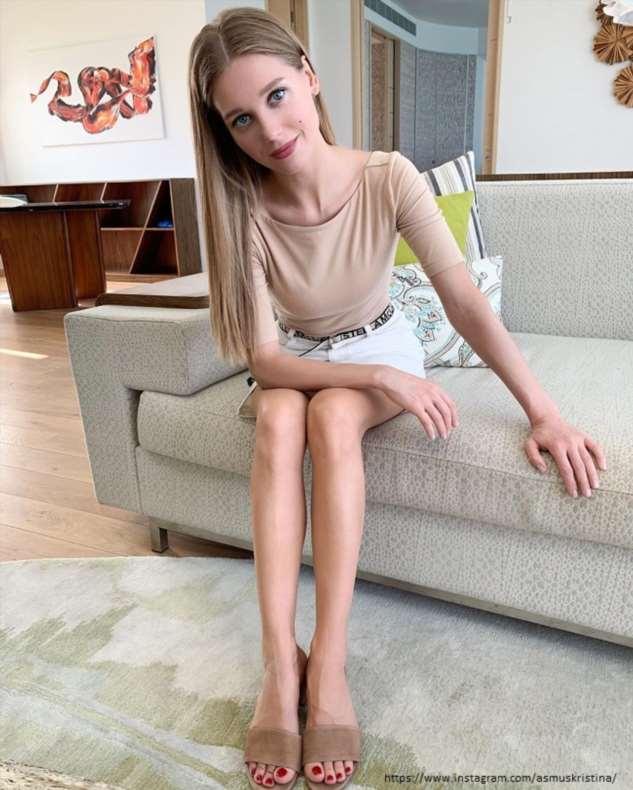 Актриса Кристина Асмус получила шрам на ноге