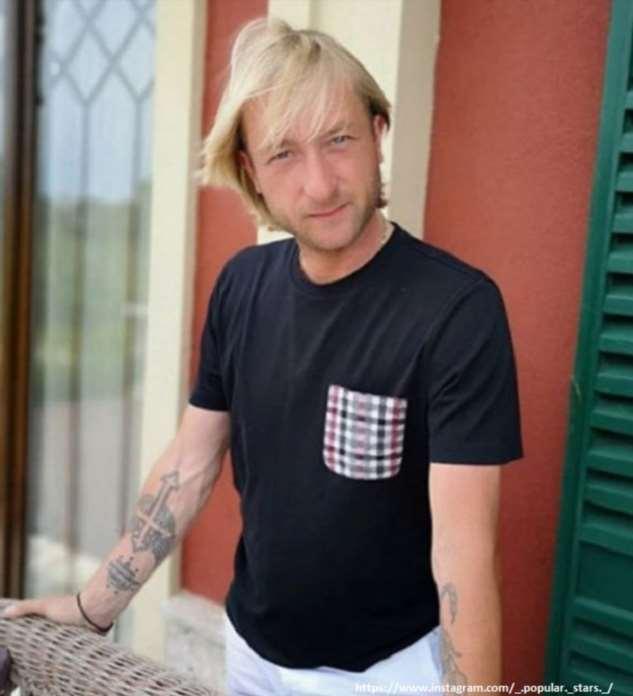 Евгений Плющенко не может нарадоваться новорожденному сыну