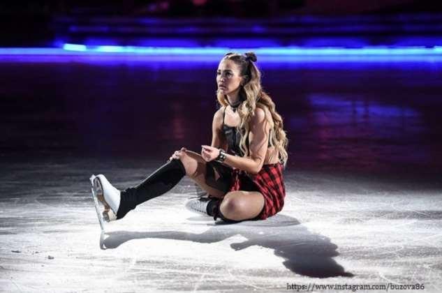 Ольга Бузова думала, что выступать на льду легко