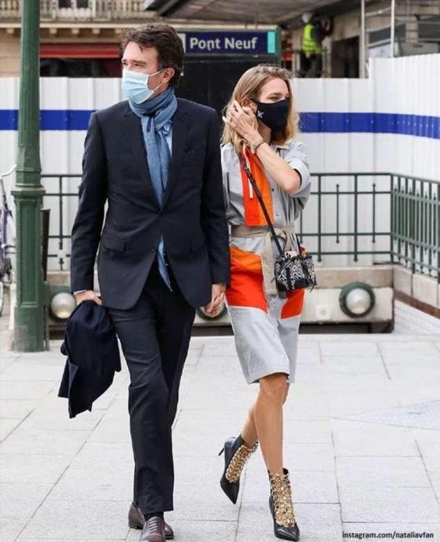 Молодожены Наталья Водянова с Антуаном Арно посетили Неделю моды в Париже
