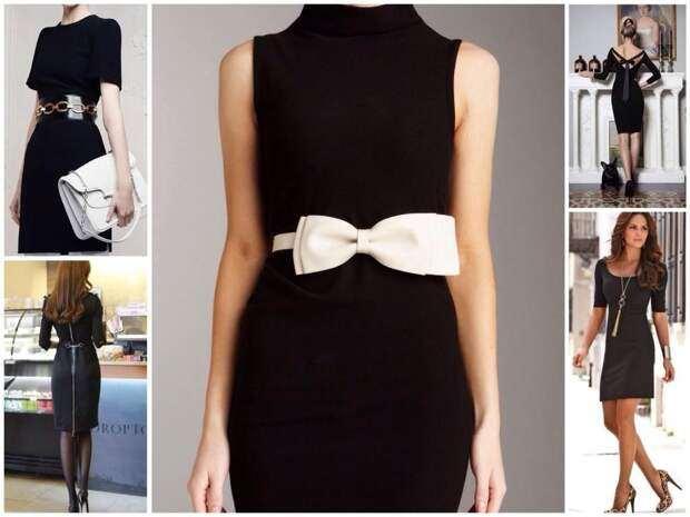 Большая роль маленького черного платья в истории моды