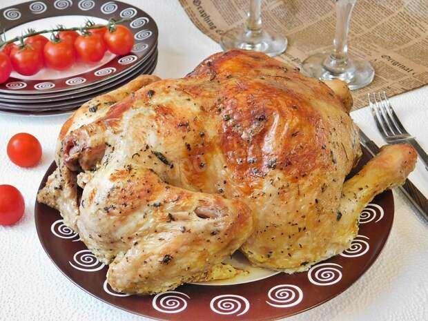 Курица, вода и каррагинан